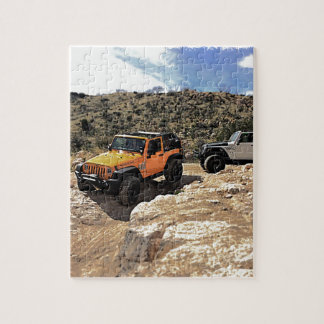 Nice Jeeps with tops down Jigsaw Puzzle