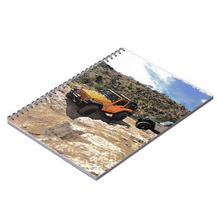Nice Jeeps with tops down Spiral Notebook