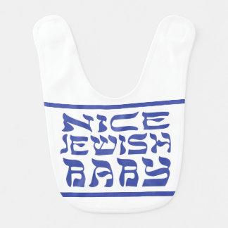 Nice Jewish Baby Bib