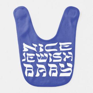 Nice Jewish Baby II Baby Bib