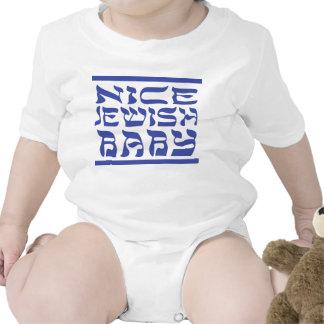 Nice Jewish Baby Romper