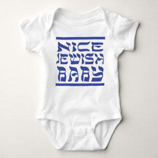 Nice Jewish Baby Tee Shirt