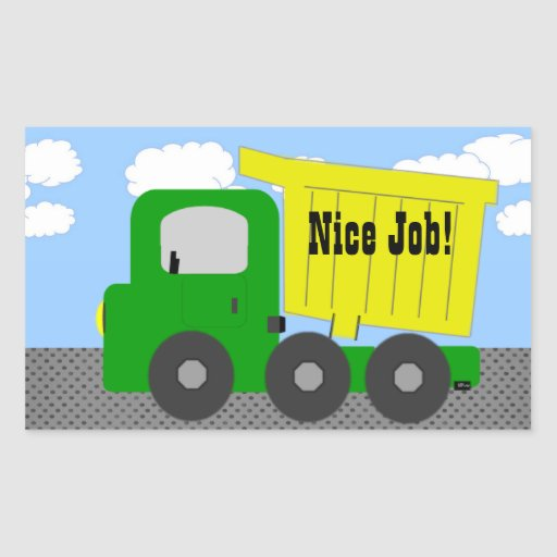 Nice Job Truck Sticker
