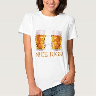 Nice Jugs Beer Glass T-Shirt