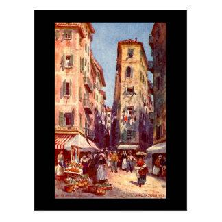 Nice, La Vieille Ville Postcard