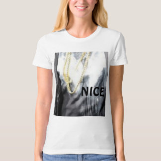 Nice Ladies Organic T-Shirt (Fitted)
