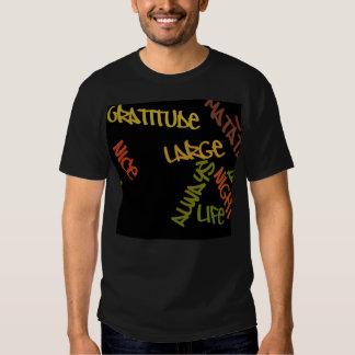 Nice large attitude t-shirt