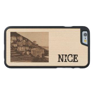Nice Le Mont Boron Cote de Azur France Carved® Maple iPhone 6 Case