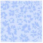 Nice light blue floral pattern. photo sculptures