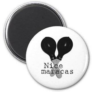 Nice Maracas Magnet