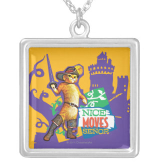 Nice Moves Senor Silver Plated Necklace