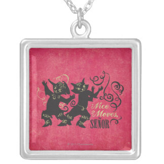 Nice Moves, Senor Silver Plated Necklace