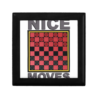 Nice Moves Small Square Gift Box