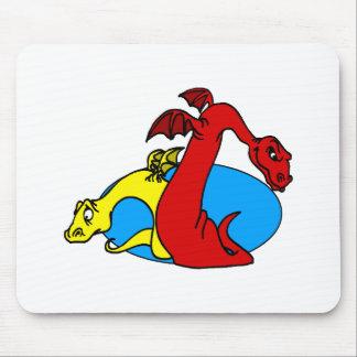 Nice Nasty Dragons Mouse Pad