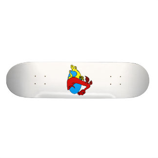 Nice & Nasty Dragons Skate Board Deck