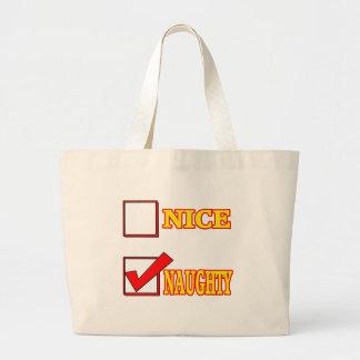 Nice Naughty Funny T-shirts Gifts Bag