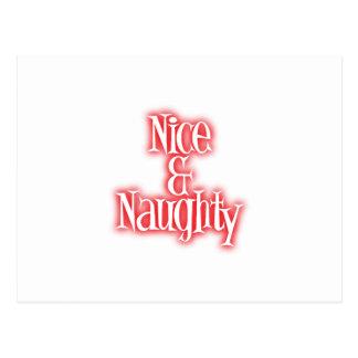 nice naughty postcard