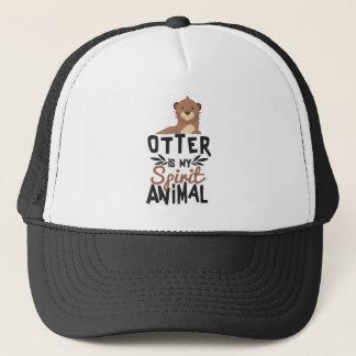Nice Otter Is My Spirit Animal Print Trucker Hat