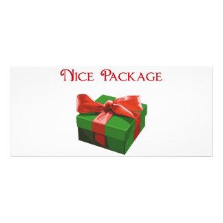 Nice Package Christmas Present Customized Rack Card
