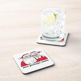 Nice Package Santa Claus Coasters