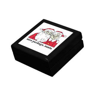 Nice Package Santa Claus Trinket Boxes