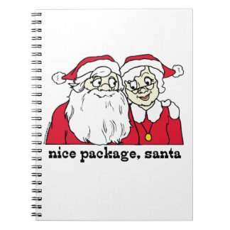 Nice Package Santa Claus Notebook