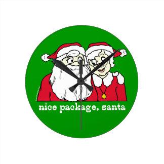 Nice Package Santa Clocks