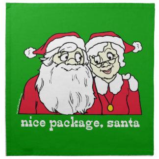Nice Package Santa Cloth Napkins