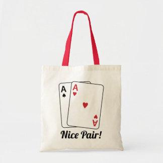 Nice Pair Tote Bags