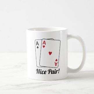 Nice Pair Basic White Mug