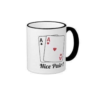 Nice Pair Ringer Mug