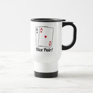 Nice Pair Stainless Steel Travel Mug
