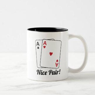 Nice Pair Two-Tone Mug