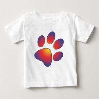 Nice Paw Print Design Baby T-Shirt