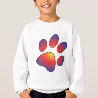 Nice Paw Print Design Sweatshirt