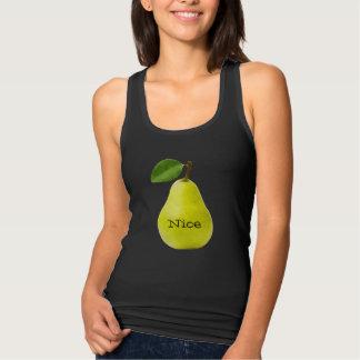 Nice Pear - Funny Tank Top