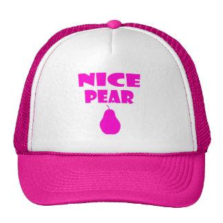 nice pear trucker hat