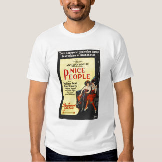 Nice People 1922 Silent Movie Poster Tshirts