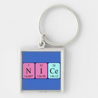 Nice periodic table name keyring