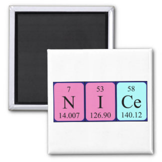 Nice periodic table name magnet