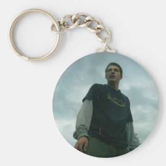 Nice pic Tav clouds behind Basic Round Button Key Ring