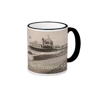 Nice Promonade Cote de Azur replica 1919 Ringer Coffee Mug