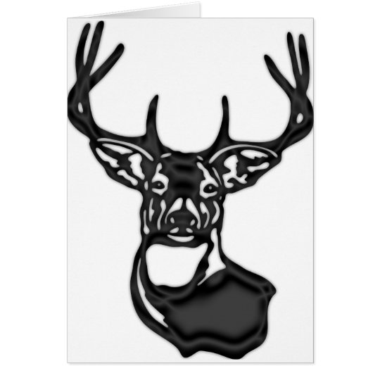 Nice Rack~Trophy Buck Greeting Card