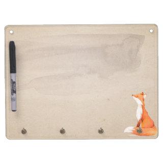 Nice red fox Dry-Erase whiteboard