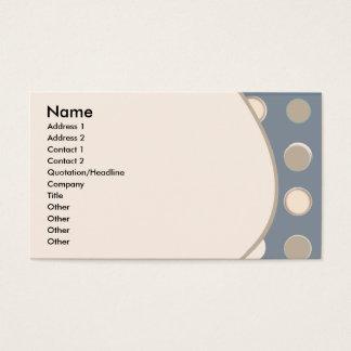 Nice Retro soft  Classic Business Card