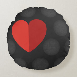 Nice round love pillow