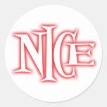 nice round stickers