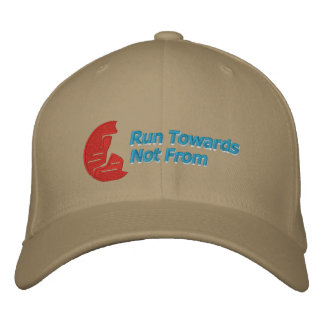 Nice Run Towards Not From ball cap Embroidered Baseball Caps