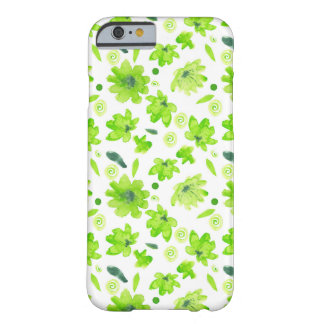 Nice spring watercolor flowers case
