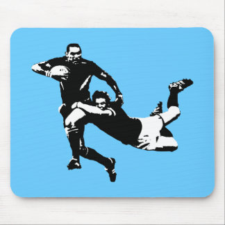 Nice tackle,Rugby Mouse Mat